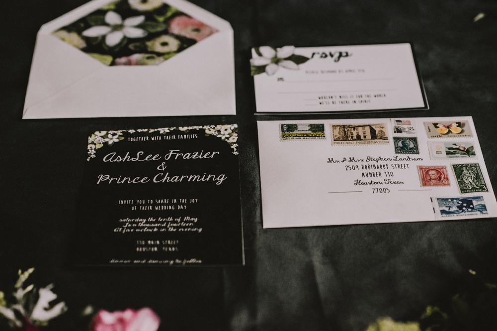 Dark Flowers Photoshoot-Handlettering- Houston, TX