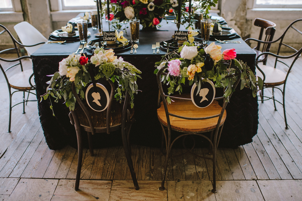 Maxit Flower Design- Bride & Groom Chair- Houston Events
