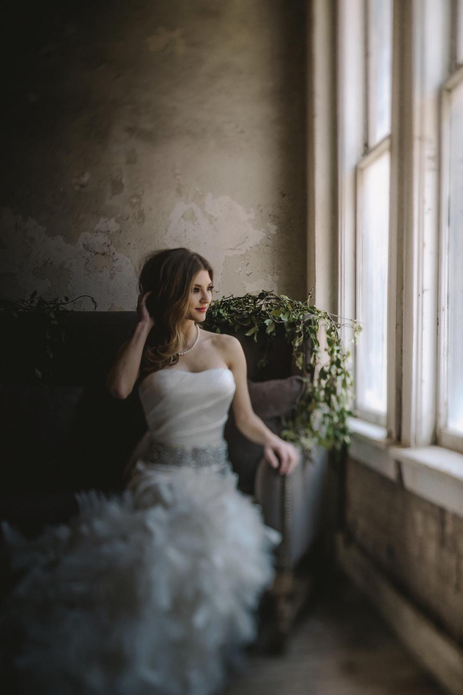 Dark Flowers Bride- Maxit Flower Design- Houston, TX Events