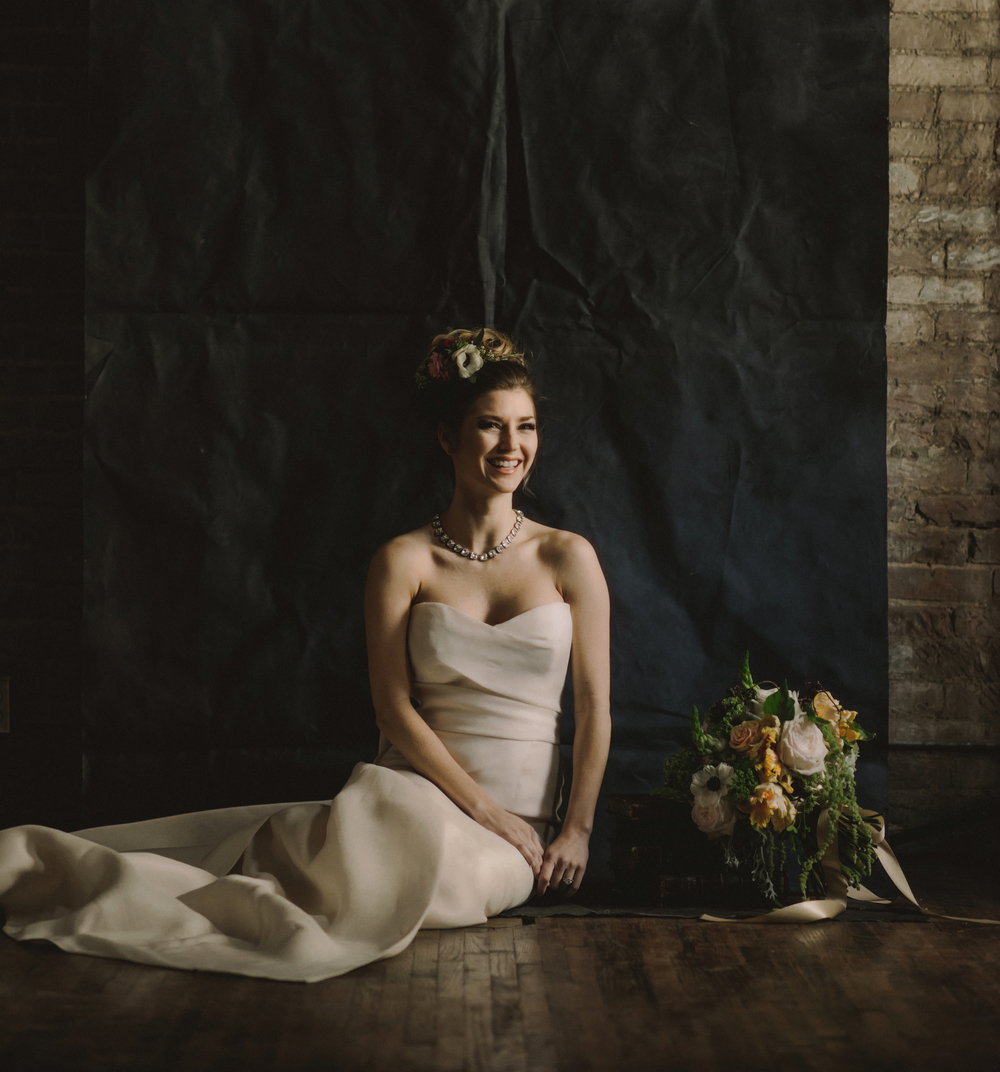 Bride- Dark Flowers- Maxit- Houston, TX Events