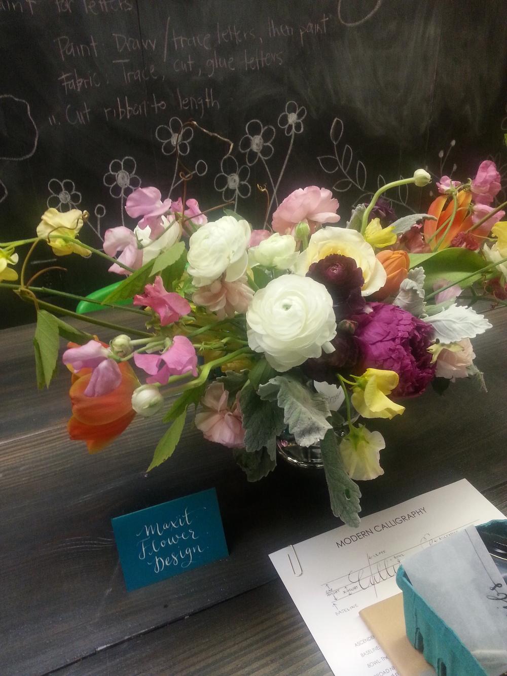 Kristara Calligraphy, Houston Flowers