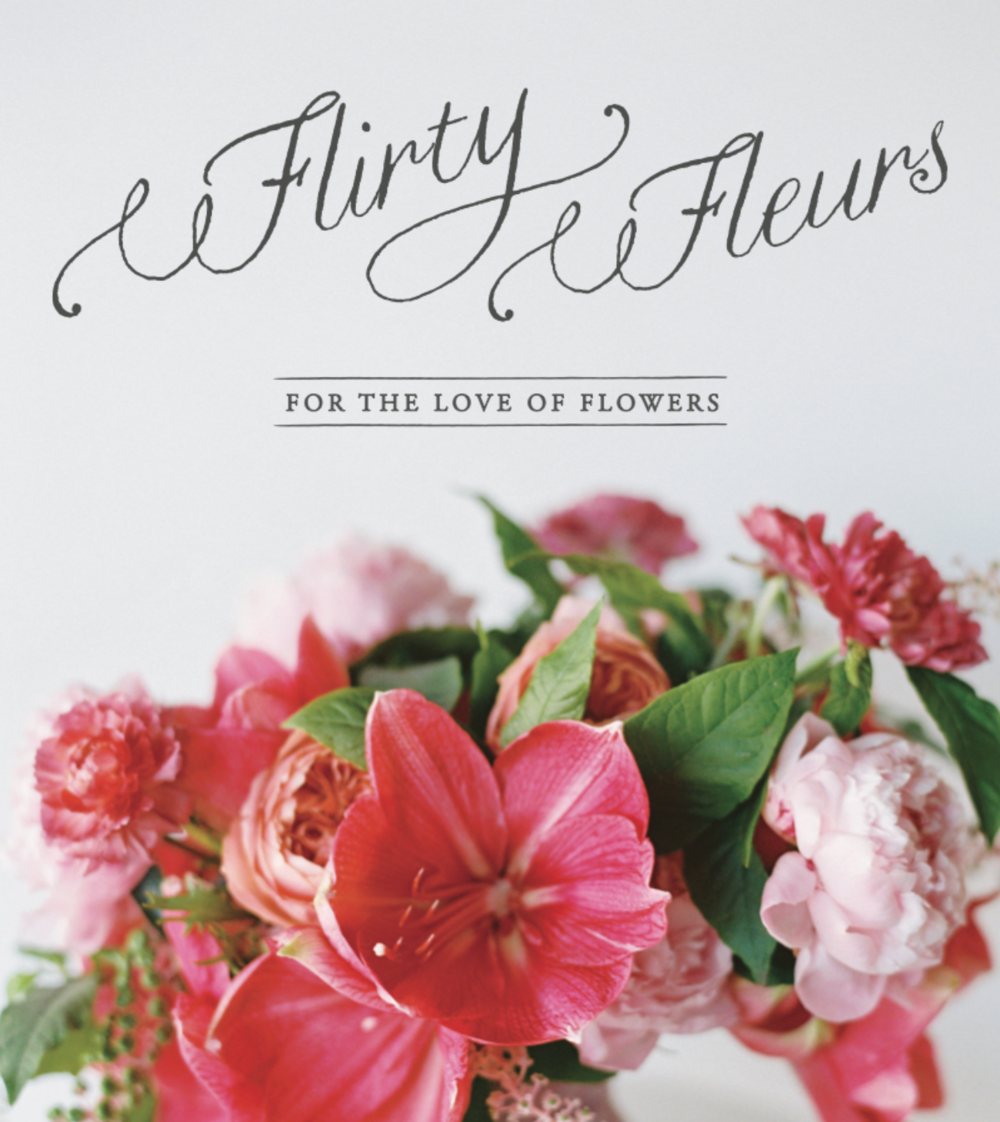 Flirty Fleurs- A magazine with fresh ideas, amazing designers and endless inspiration.