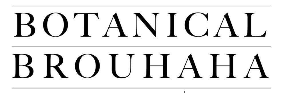 Botanical Brouhaha Logo, Flower Designer's Blog
