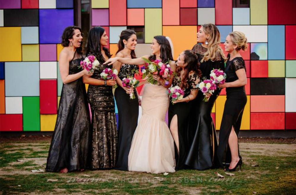 Maxit Flower Design, The Grove Houston, Houston Wedding Florist, Wedding Party