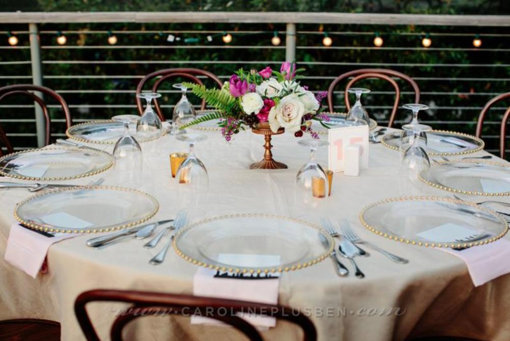 Maxit Flower Design, The Grove Houston, Houston Wedding Table Scape