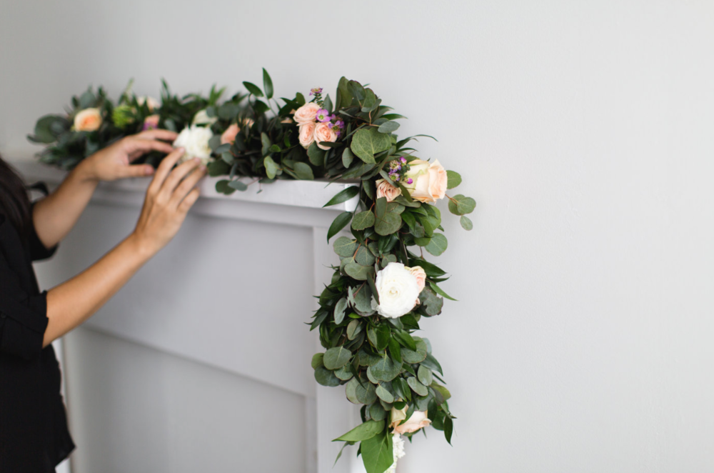 Flower Garland - Private Design Session, Maxit Flower Design