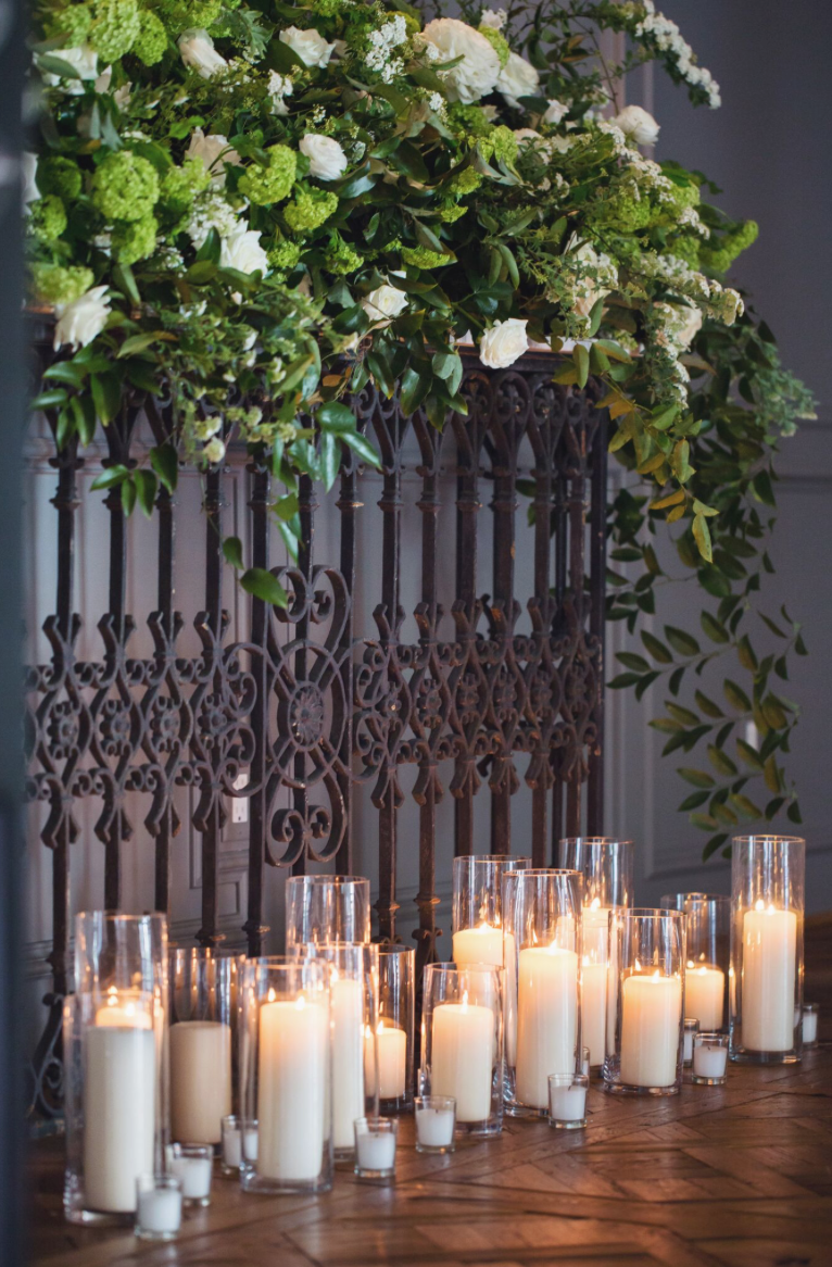Altar with candles, Pinky Promise Photography, Maxit Flower Design (Woodlands Houston)