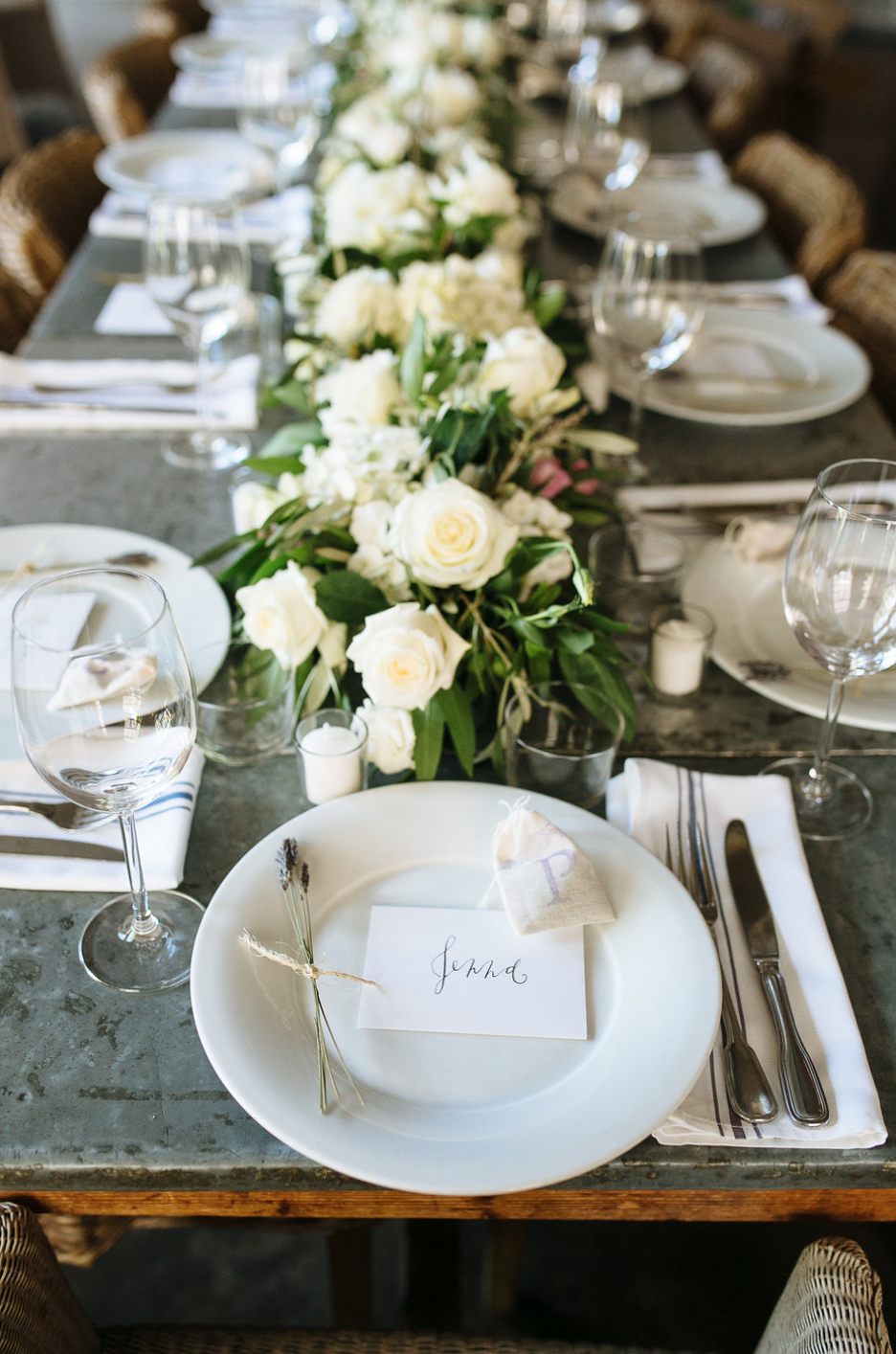 Place Setting- Maxit Flower Design- Houston Weddings