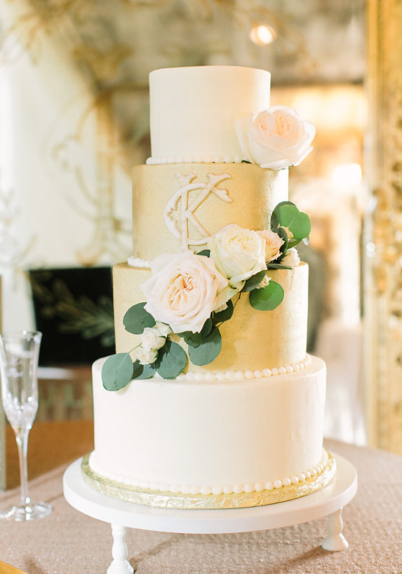 Cake Flowers- Maxit Flower Design- Houston Weddings