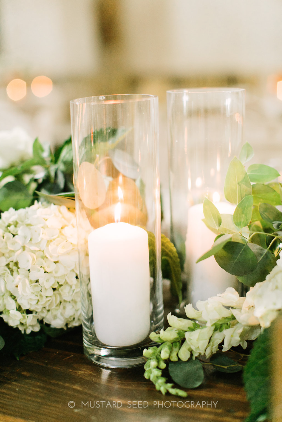 Candles- Houston Weddings- Maxit Flower Design
