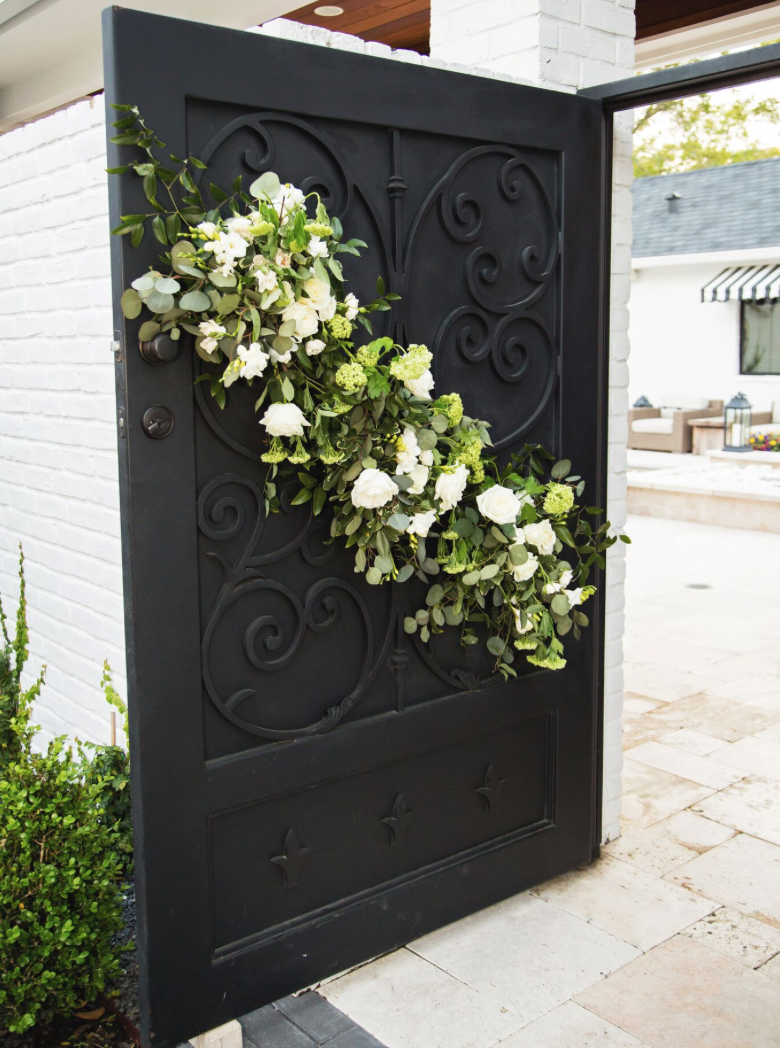 Wedding Gate Flowers, Pinky Promise Photography, Maxit Flower Design (Woodlands Houston)