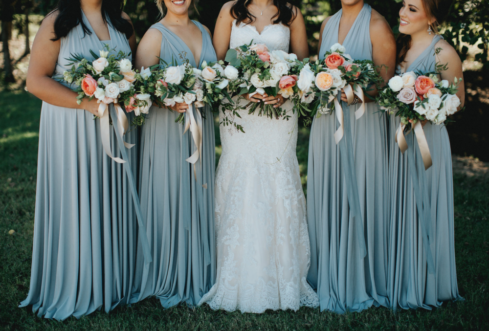 Bridal Party Bouquets by Maxit Flower Design in Houston, TX