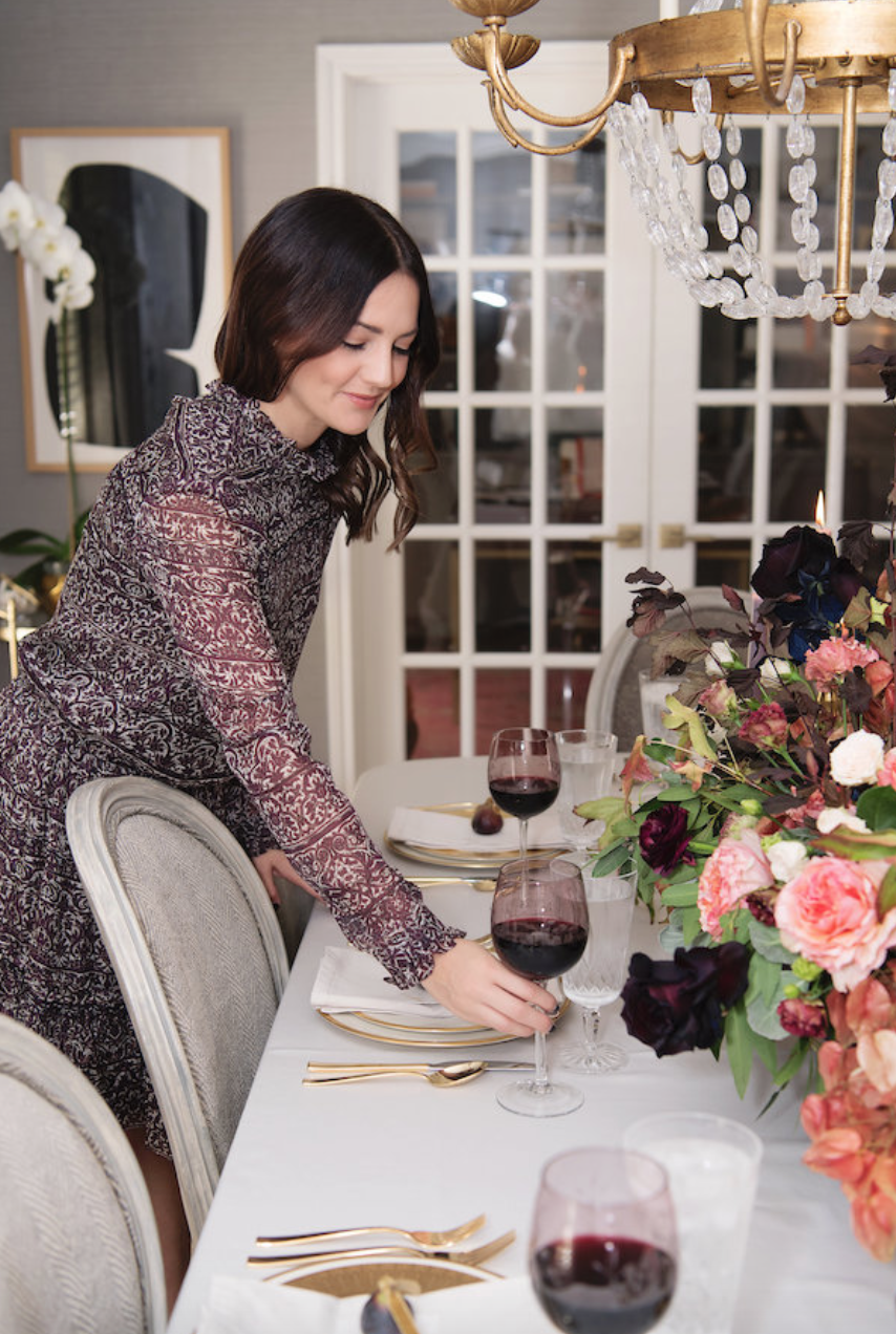 dinner-party-house-of-harper-wine-entertaining-moody-pink-burgundy-fall-plum-fig-floral-arrangement-by-maxit-flower-design