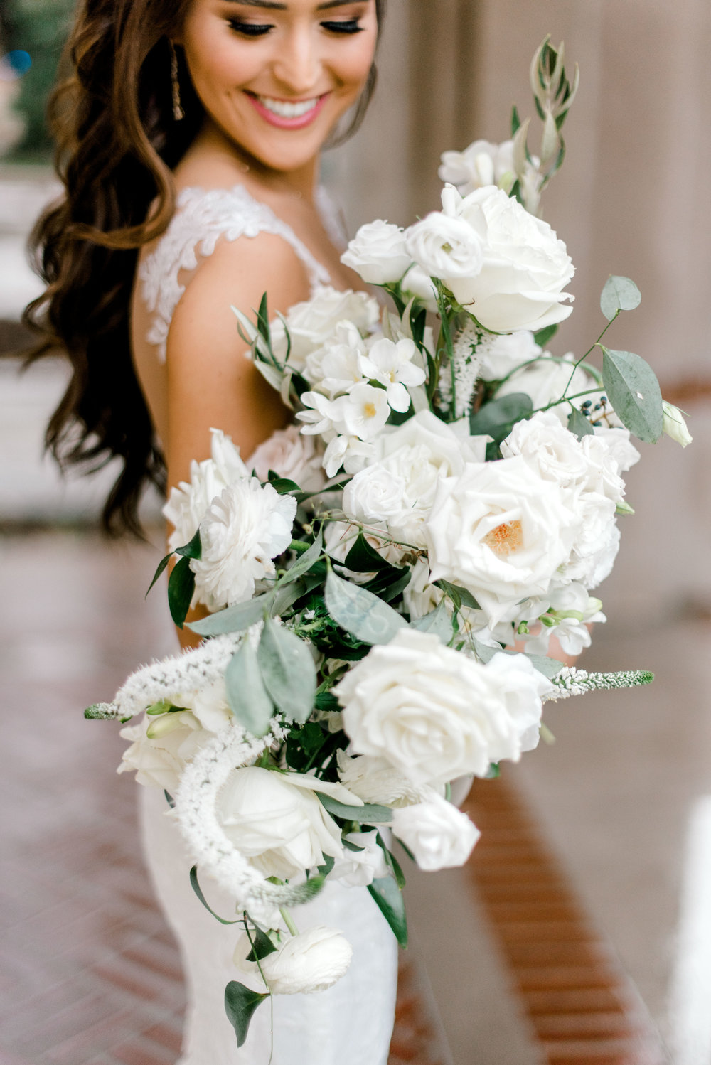 wedding-details-photography-dana-fernandez-bride-bridal-bouquet-Freesia-Lisianthus-Veronica-peony-floral-greenery-by-maxit-flower-design-houston-texas