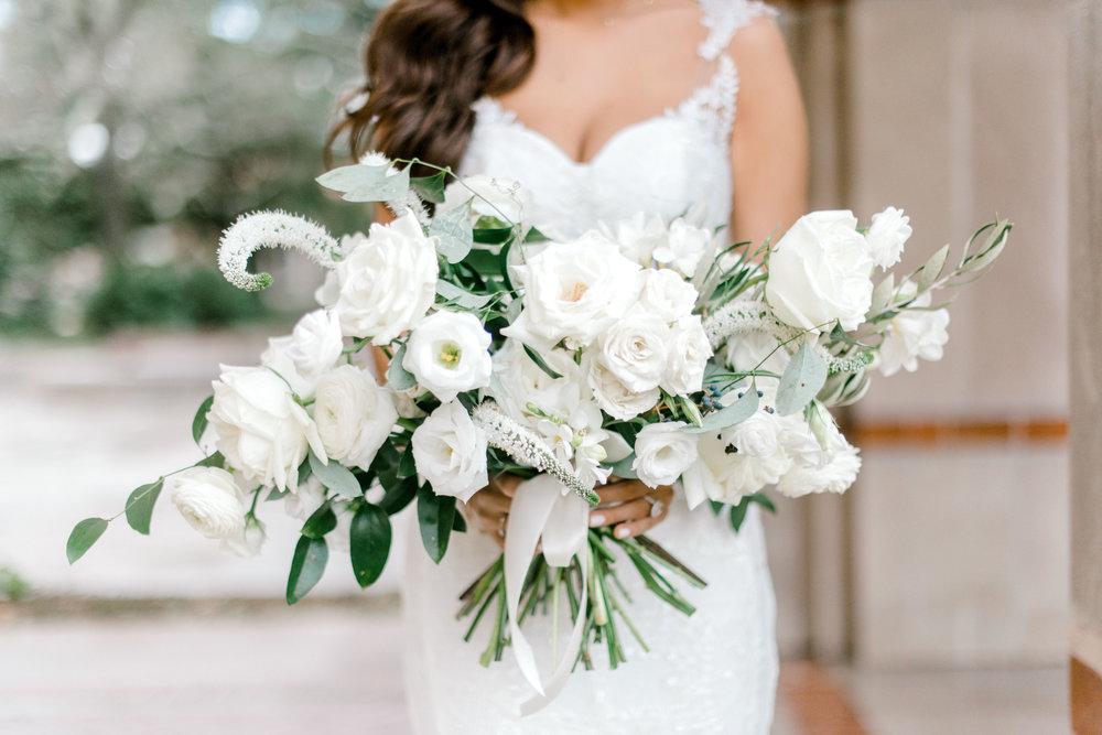 Bridal bouquet by Maxit Flower Design, captured by Josh & Dana Fernandez Photography