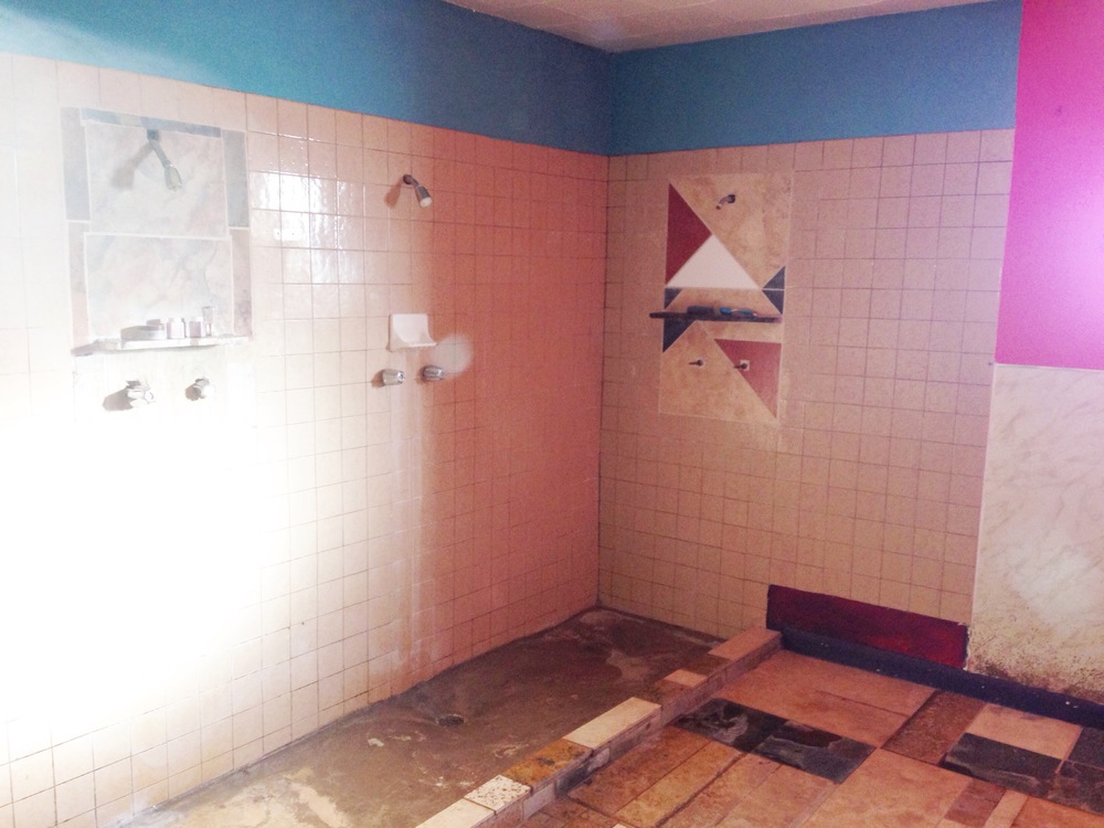 Women's Showers