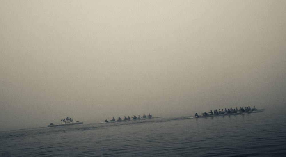 Crew Practice, Lake Mendota