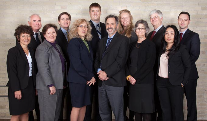 Attorneys at the Milwaukee office of Hawks Quindel, S.C.