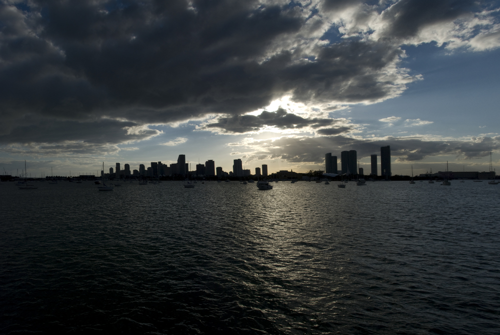 Miami from de Boat