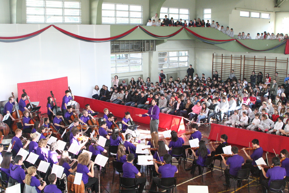 Festive Overture at the Colegio Ward