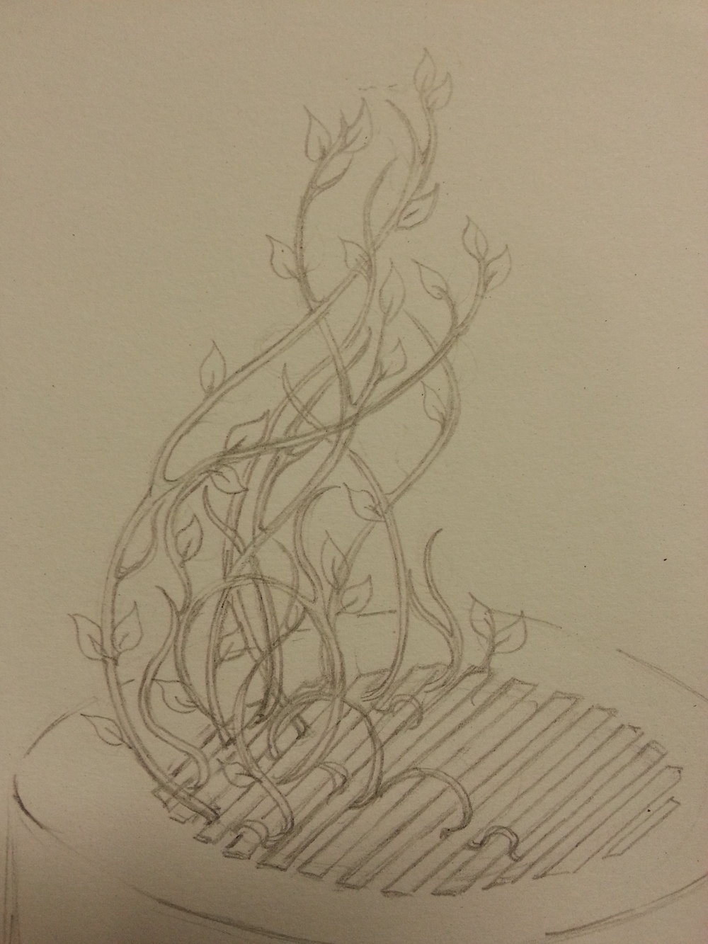 Tricky tendrils