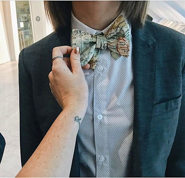 Love seeing my ties out in the wild. Especially when they are paired with these two cuties. Be sure to tag us in any of your photos. ✨