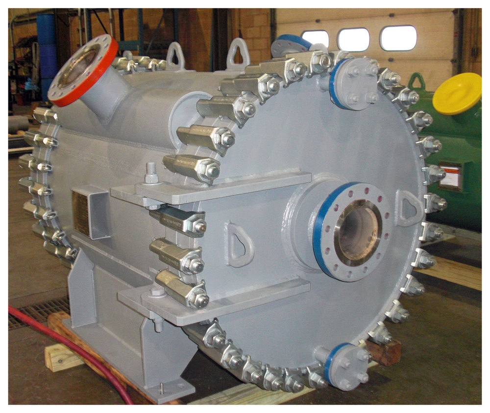 Spiral Heat Exchanger - Oil Refining