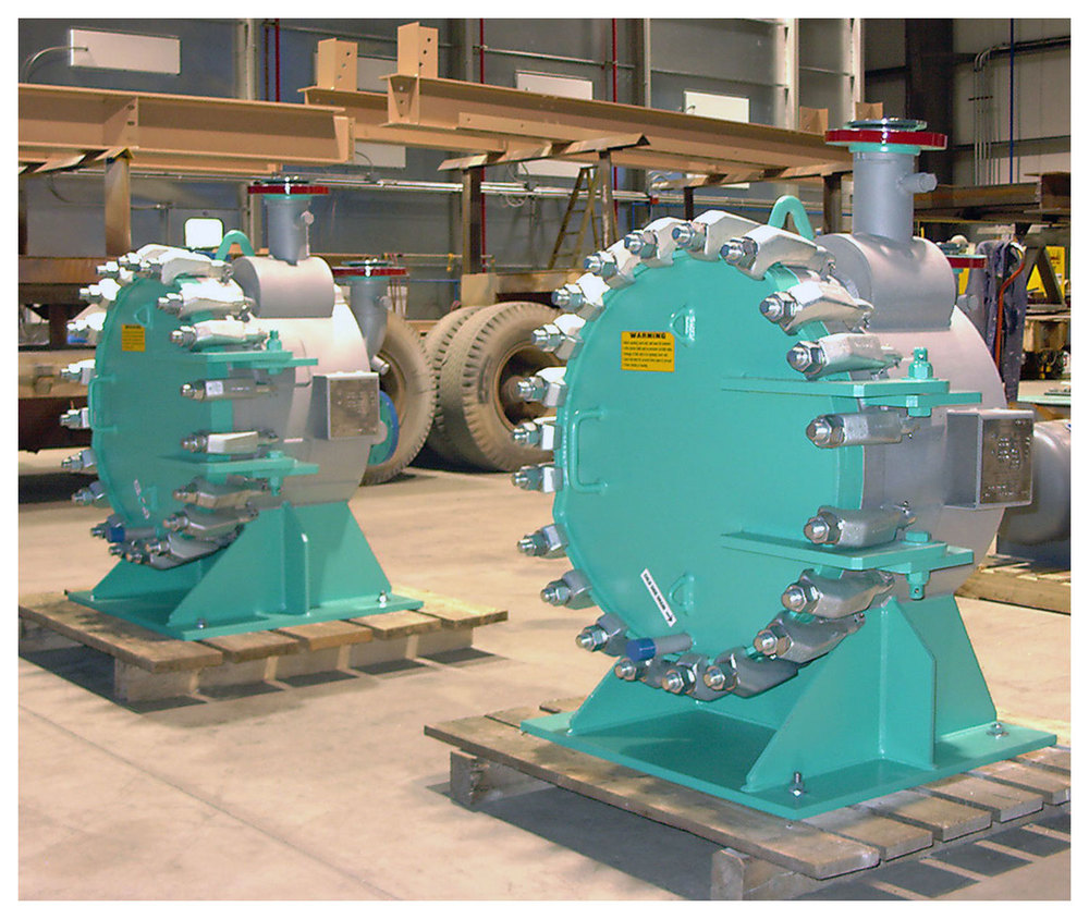 Spiral Heat Exchangers - Digester Sludge Heating