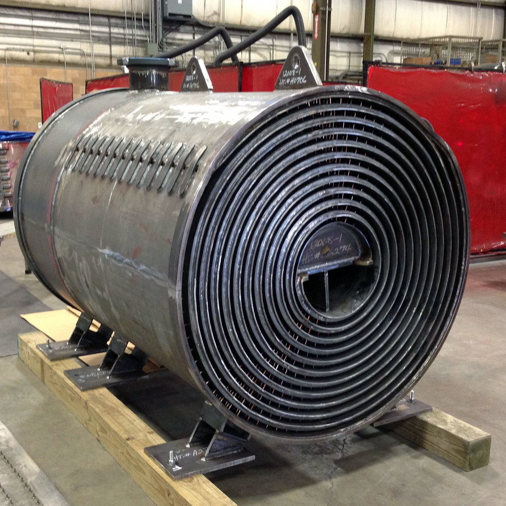 Spiral heat exchanger main configurations — gooch thermal