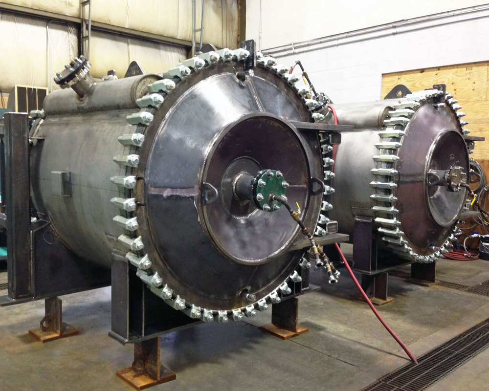 Hydrotesting Spiral Heat Exchangers per ASME Code