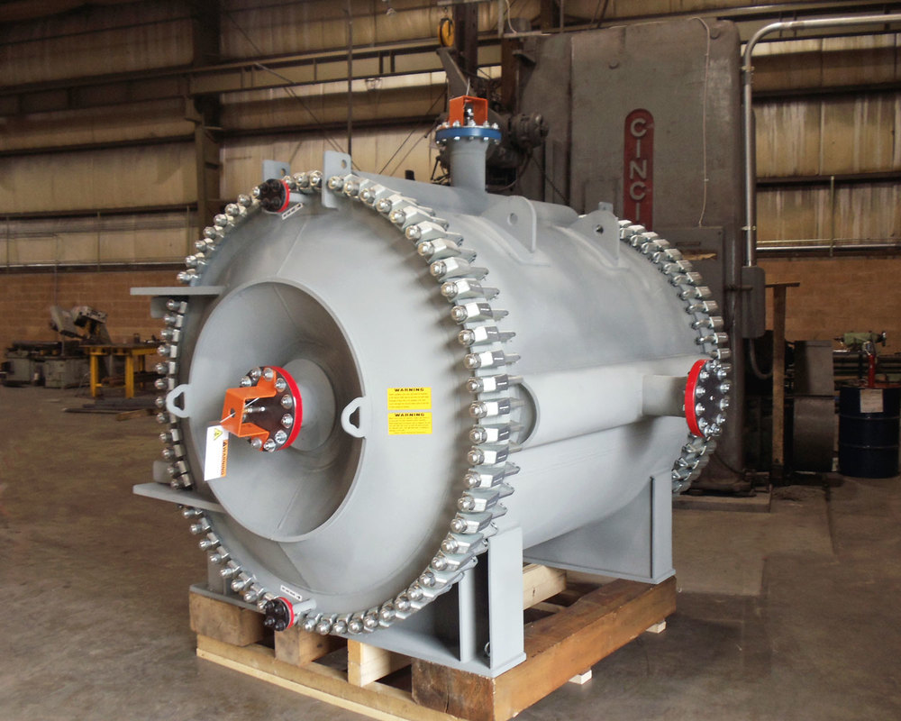 Spiral Heat Exchanger Released for Shipment