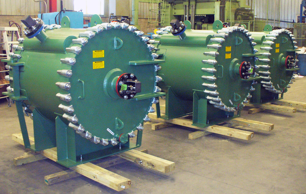 SAGD Produced Water Coolers, SA-516-70 Carbon Steel