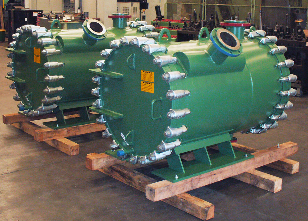 Green Liquor Steam Heaters, Duplex 2205