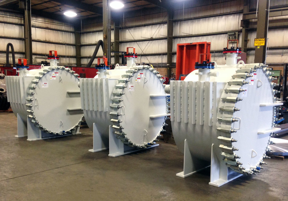 Gooch Thermal Sludge Spiral Heat Exchangers