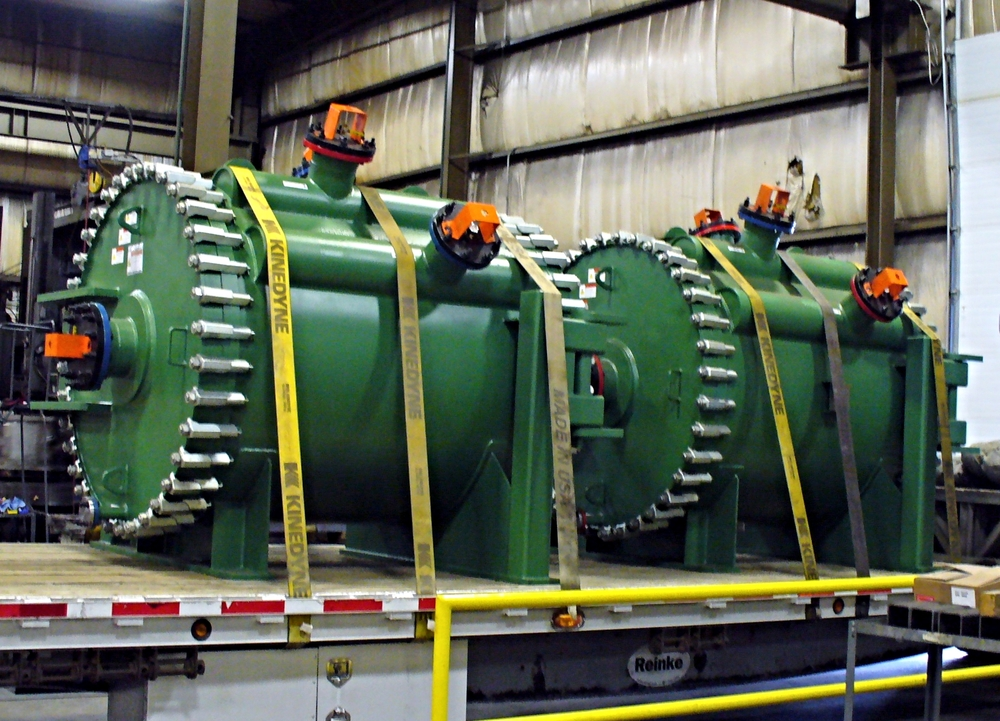 Duplex 2205 Spiral Heat Exchangers for Alberta, Canada