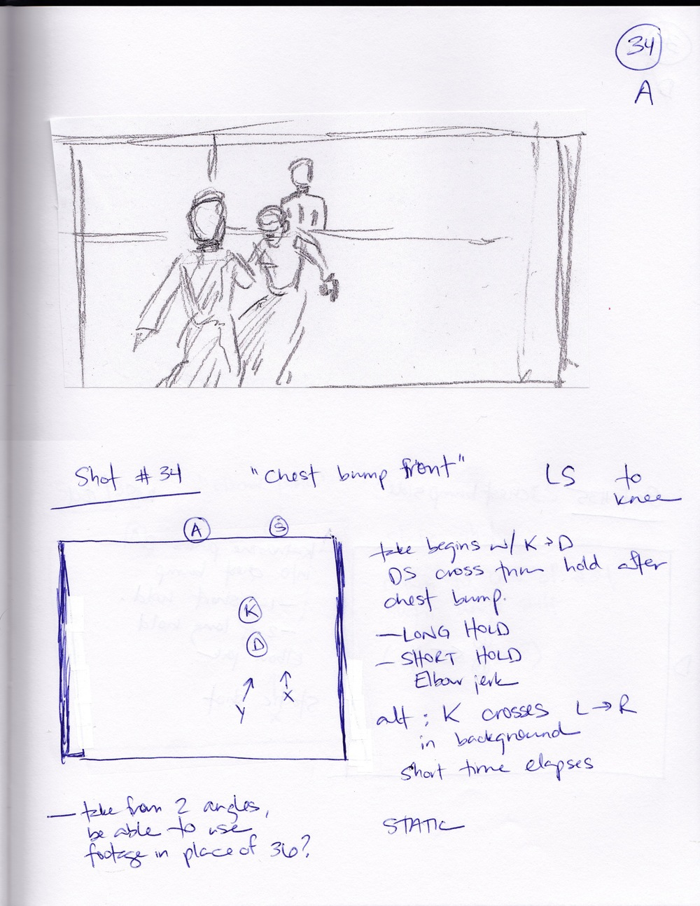 Storyboard art by Doruk Golcu