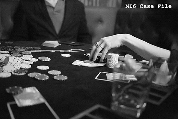 MI6 photo taken of Aston's opening evening.