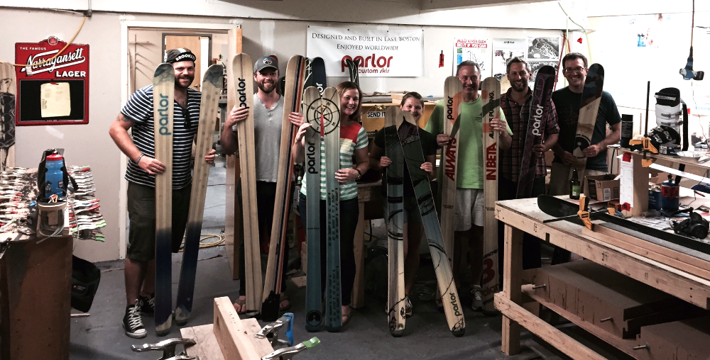 Some of the members from last summers class, showcasing their one of a kind builds!