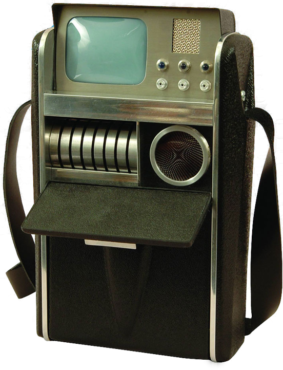 A photograph of the fictional Tricorder from the original Star Trek series  — XPrize