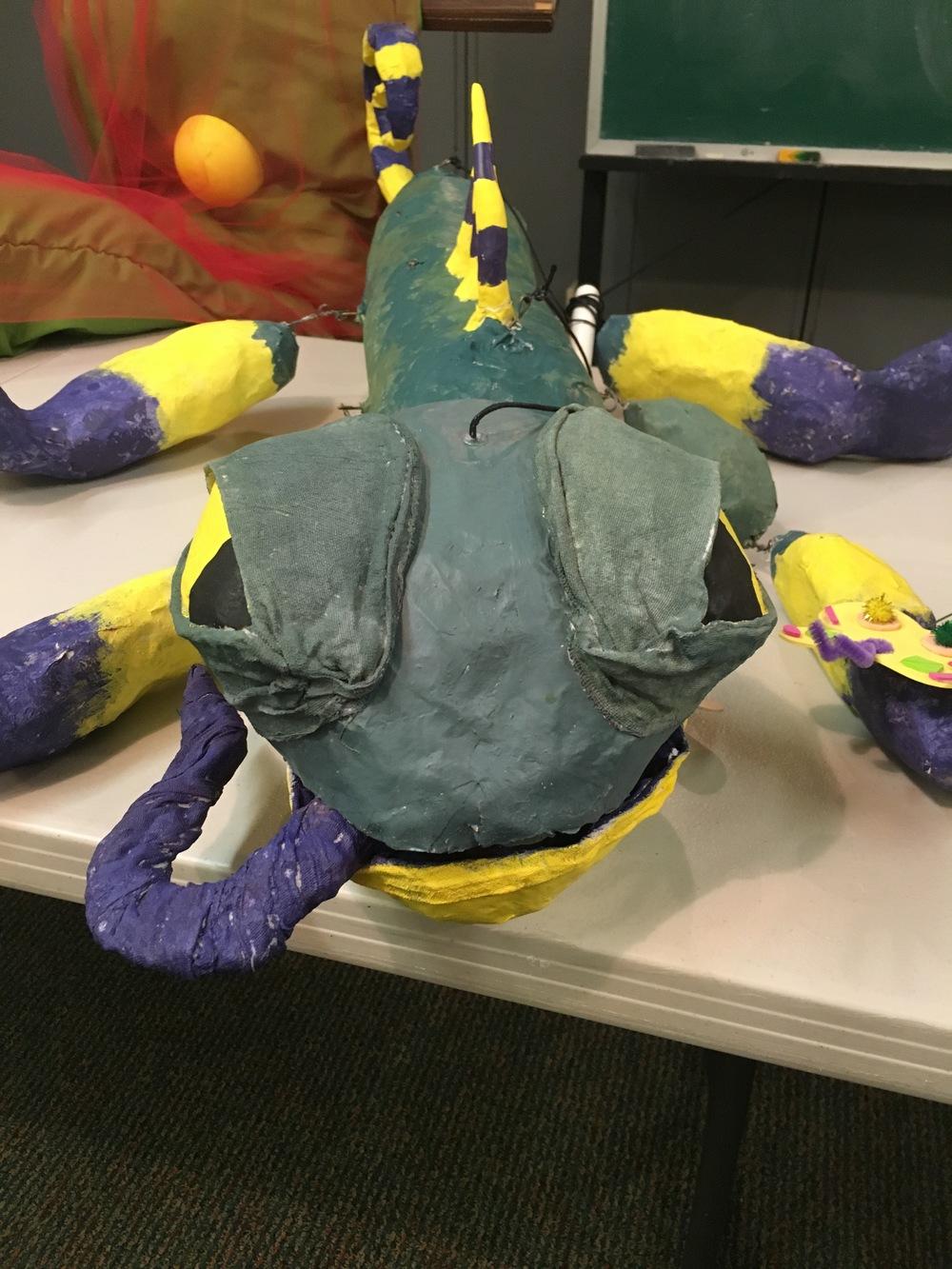 frank - giant puppet
