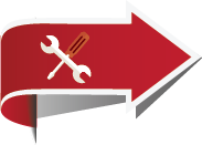 This is an image of an arrow with a wrench and screw driver icon. The arrow points to the word service in order to add emphasis to this section and the tools represent the life skills tools that Ida Lee Duplechin helps her clients develop.