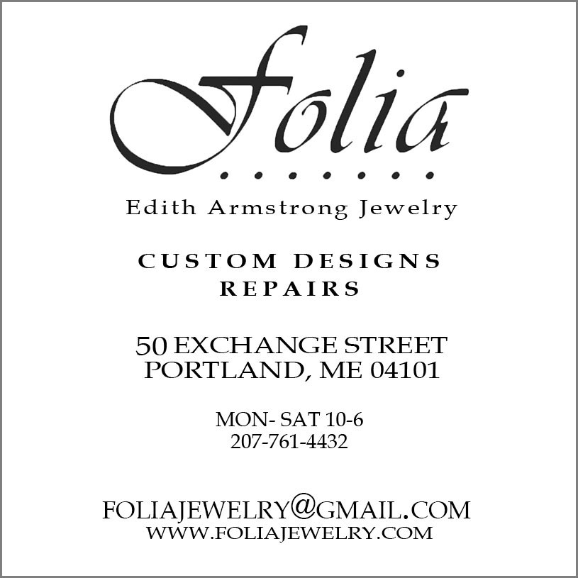 Folia business card