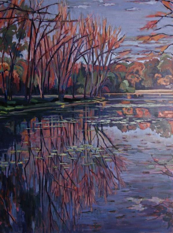 Autumn Spillway