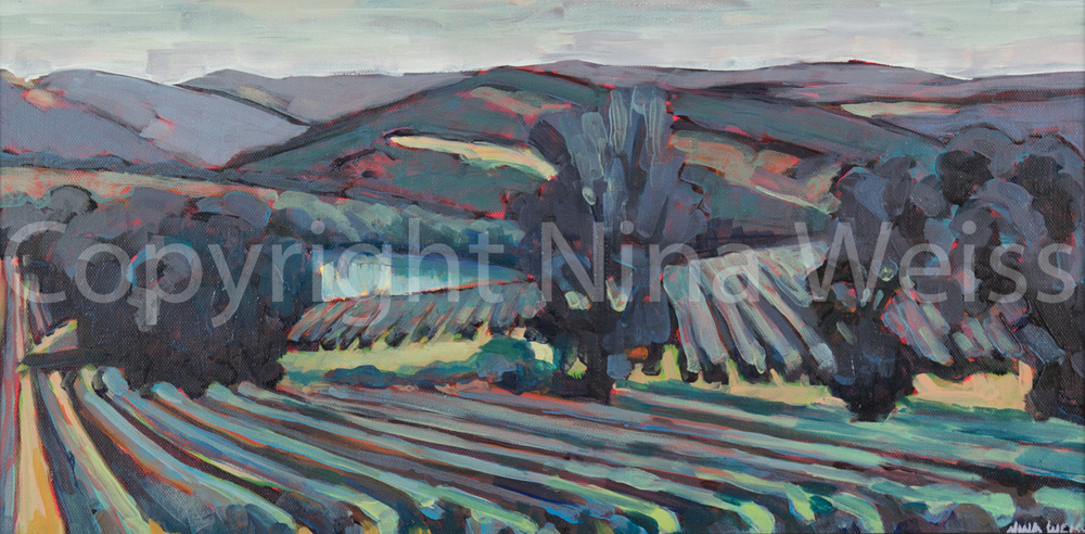 FRENCH LANDSCAPE - SOLD