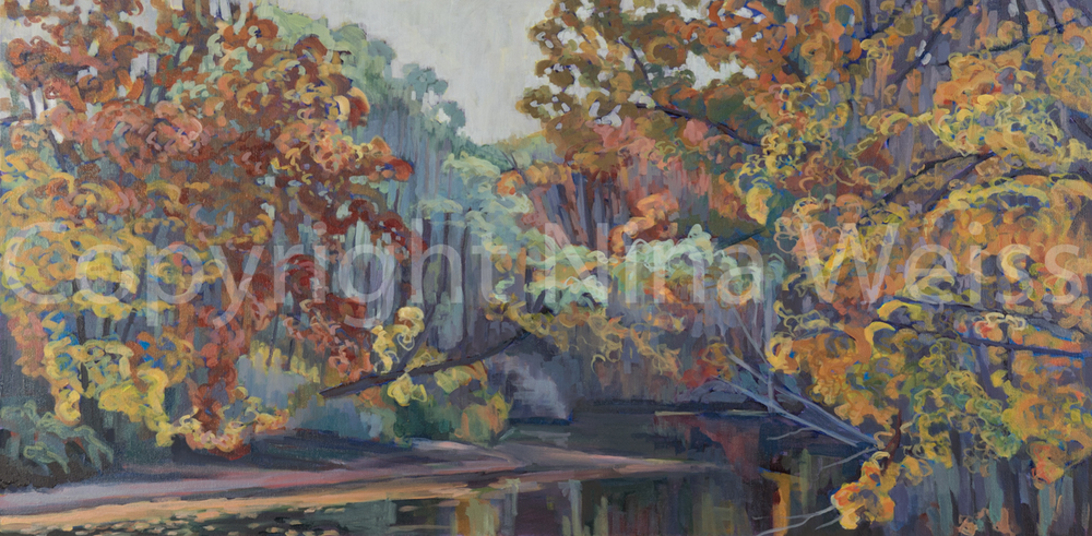 CHAGRIN RIVER; AUTUMN