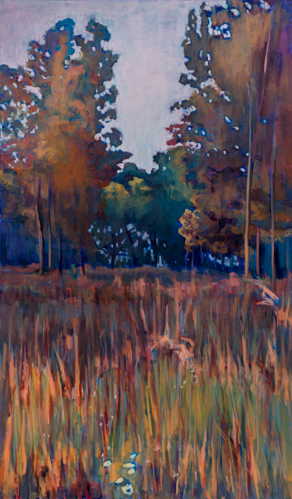 "Autumn Light 60"" X 40"""