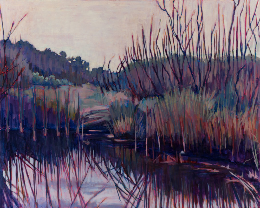 "Sanibel Island Marsh 48"" X 60"" Sold!"