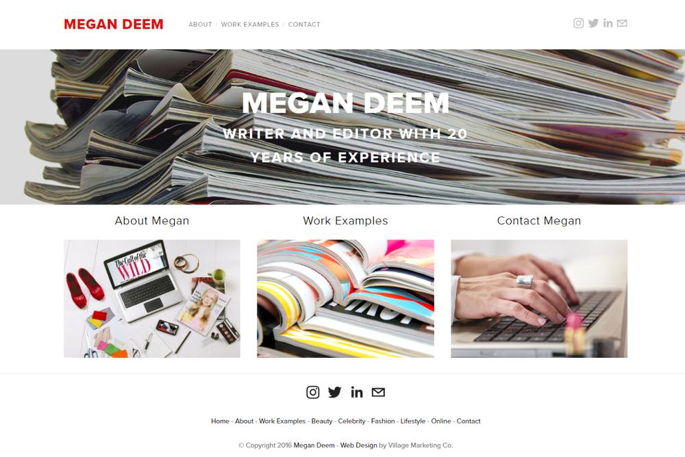 Professional Resume - Wordpress Migration
