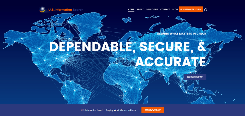 Background Check - Wordpress Migration