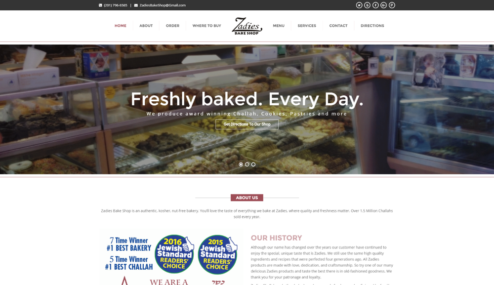 Copy of Bakery - Wordpress